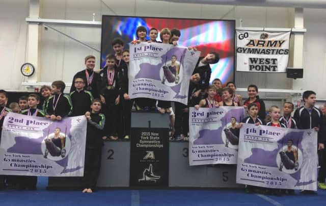 World Cup Gymnastics earned honors at an invitational and the New York State championship.