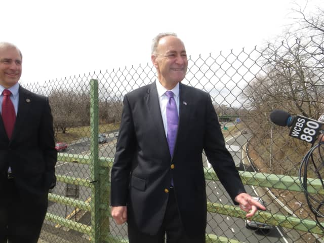 U.S. Sen. Charles Schumer called on the IRS to give property taxpayers a break under new state law.