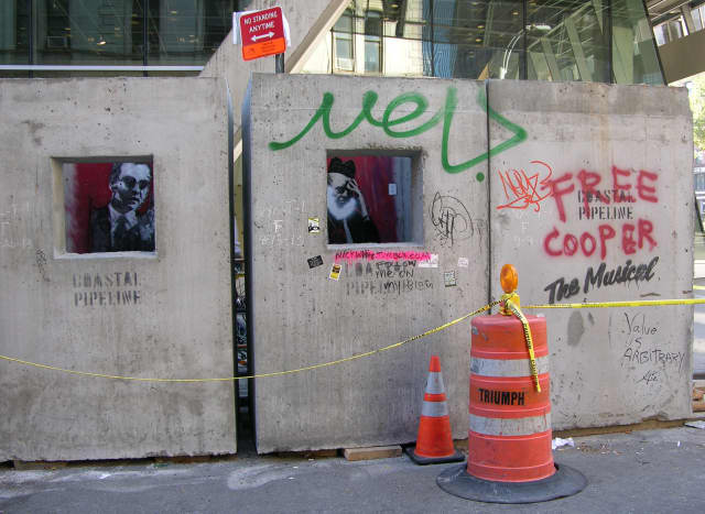A street artist, formerly of Wilton, has been featured in The New York Times.