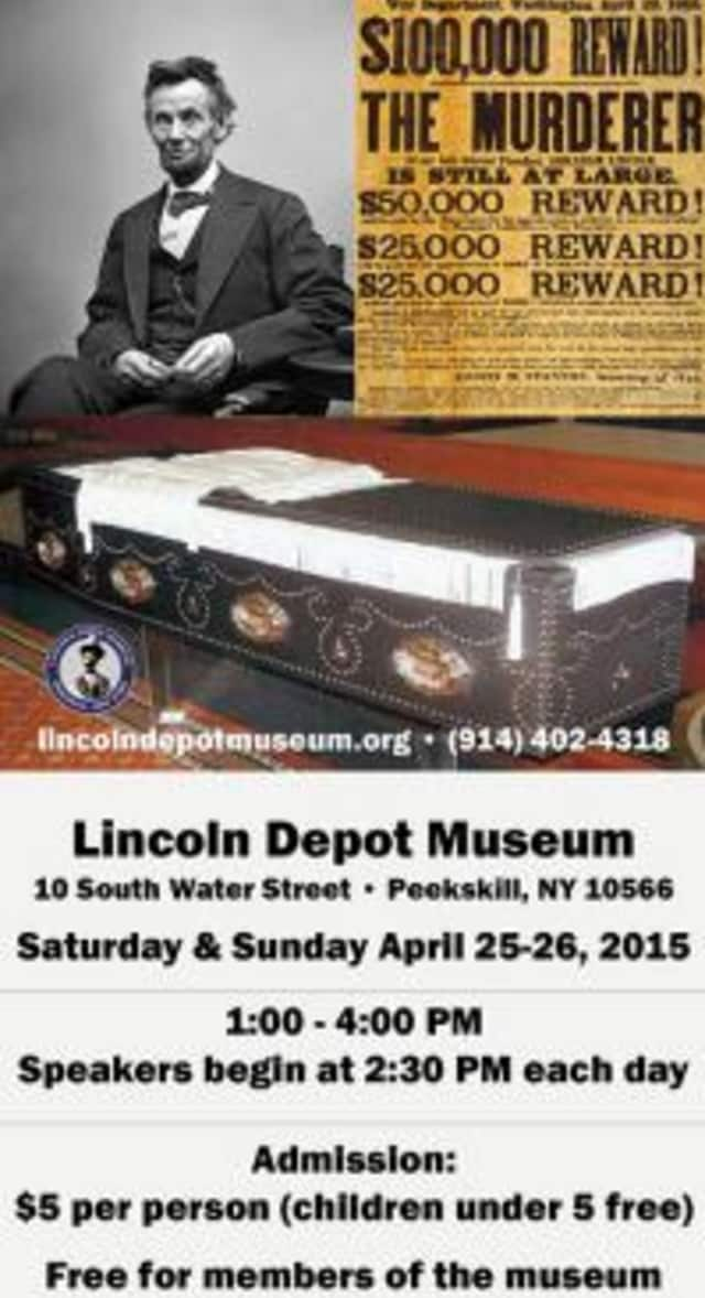 The Lincoln Depot Museum is holding a Lincoln Remembrance Weekend April 25 and 26.