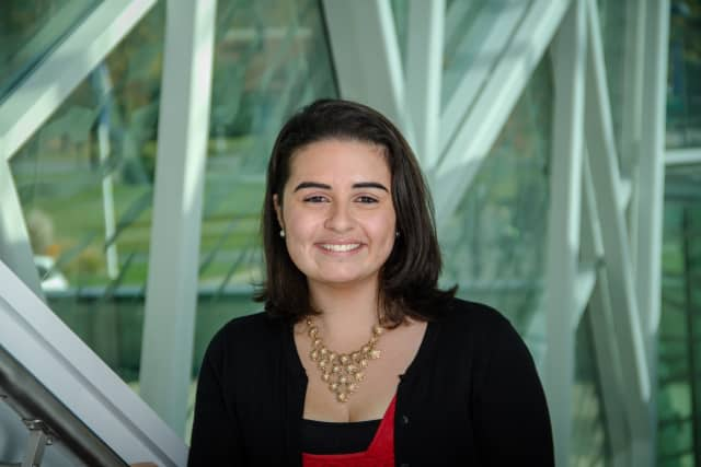 Miriam Ward was one of five SUNY New Paltz students to receive the Chancellor's Award for Student Excellence.
