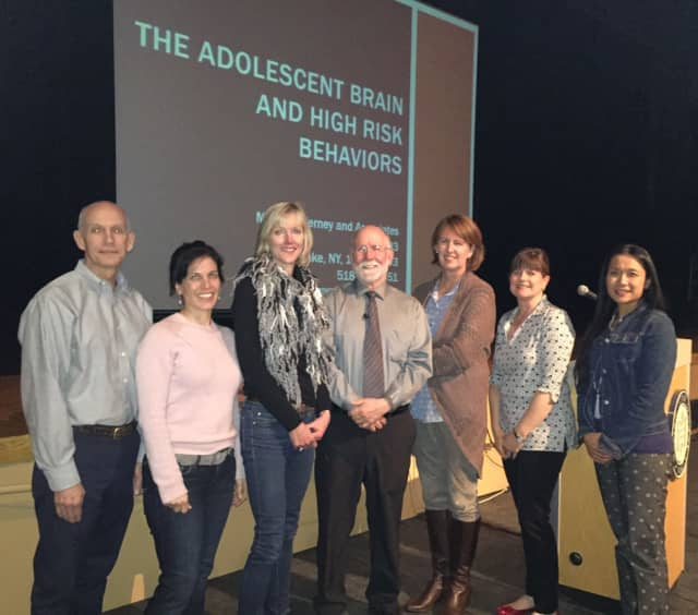 Internationally known lecturer Michael Nerney presented 'Understanding the Teenage Brain' at Darien High School on March 31 sponsored by YWCA Parent Awareness, the DHSPA, the MPA and the Darien YMCA