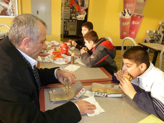 Chef Chaitali Waychal enjoys eating at McDonald's.