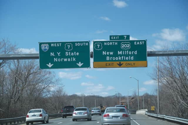 Work begins Monday on an I-84 project in Danbury.