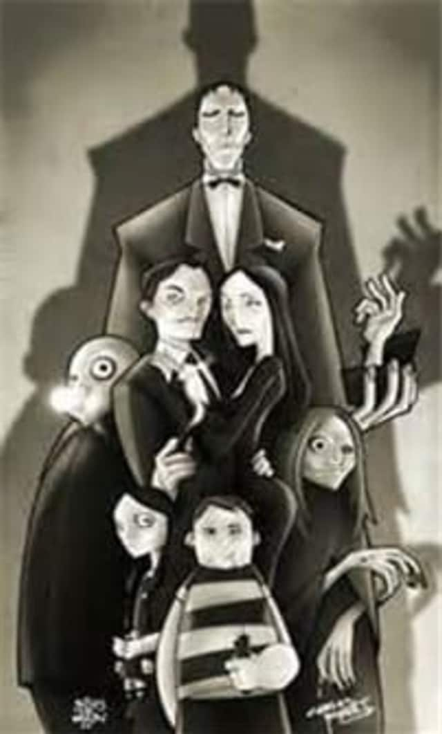 """The John Jay Middle School Drama Club will perform """"The Addams Family Musical"""" April-11."""
