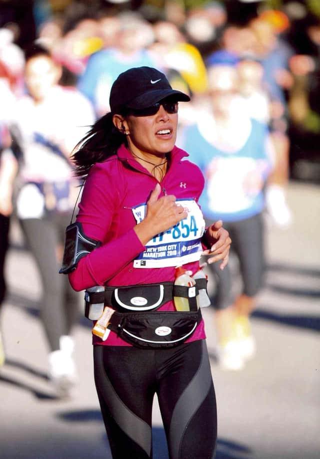 Bettina Sementilli, owner of Cross Sport Woman in Katonah and founder of The Running Goddess.