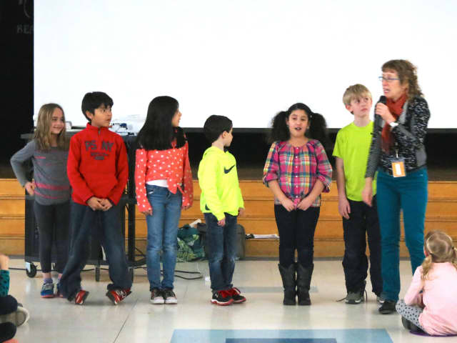 Carrie E. Tompkins Elementary School in Croton-on-Hudson welcomed award-winning author Trudy Ludwig to speak about her books and about bullying.