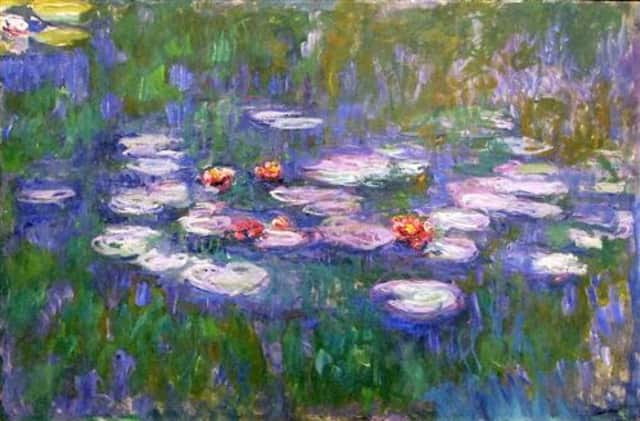 """Sotheby's will have several Monet pieces up for bidding at its May auction, including a piece titled """"Water Lilies."""""""