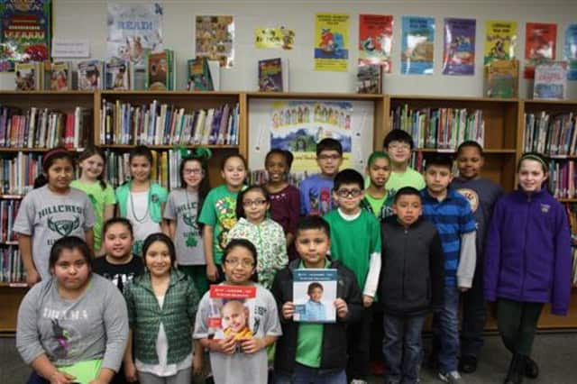 Hillcrest Elementary School students raised $8,000 during St. Jude's Math-a-Thon.