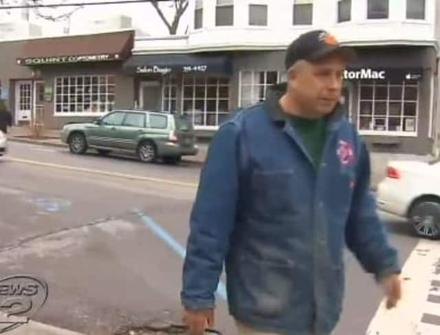 Irvington off-duty fire chief Chris DePaoli is being hailed as hero in the incident.