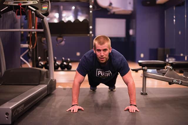 Eddie Geideman of Push Fitness.