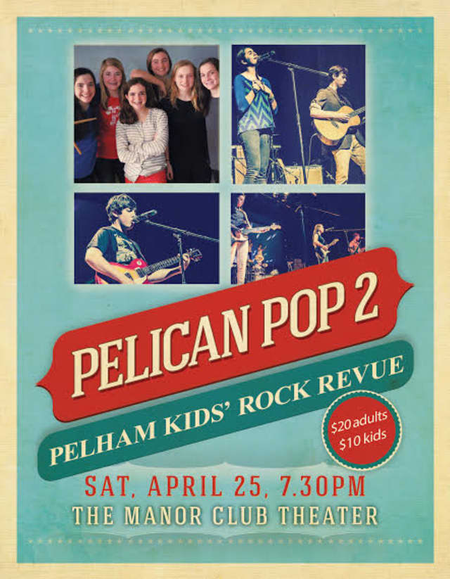Pelham students will perform a rock concert April 25.