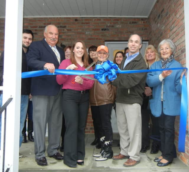 The J. Moore Insurance Agency in Mount Kisco recently had a ribbon-cutting and grand opening ceremony for its new business.