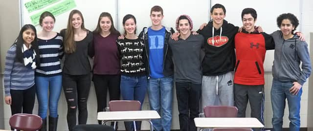 Two teams of Harrison High School students have advanced to the second round of judging in the annual Moody's Mega Math Challenge.