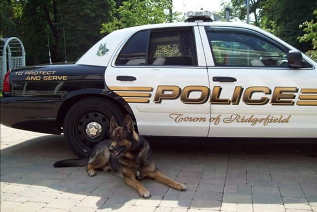 The Ridgefield Police Department will say goodbye to retired canine Zeus during a final ride Wednesday.