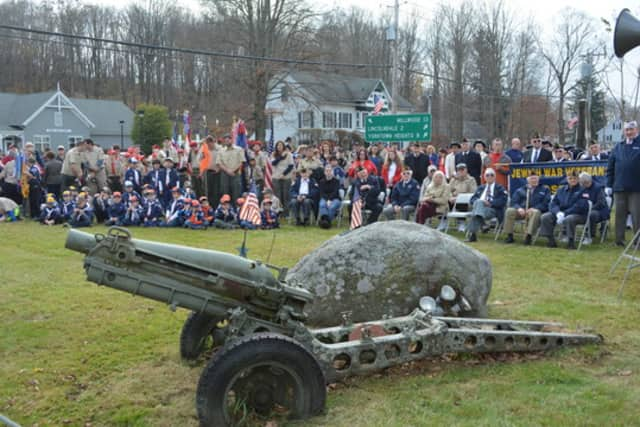 The Howitzer Cannon at the Ivandell Cemetery.