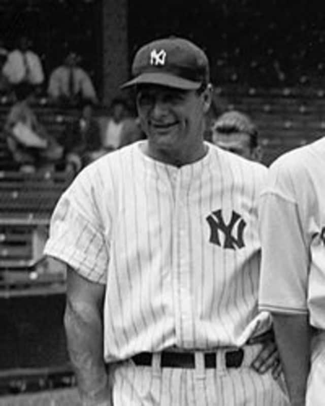 Lou Gehrig will be honored by the Larchmont Historical Society.