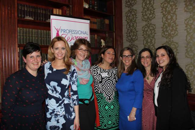 Jenn Andrlik; Nancy Ward; Lisa Kaslyn; Jamie Imperati; Anne Jordan Duffy; Jeanne Muchnick; and Danielle Netrosio.