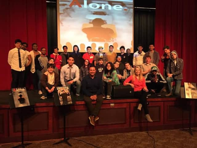 Ossining High School students participated in the 10 Day Film Challenge.