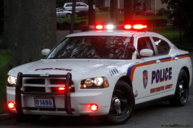 A county police car.