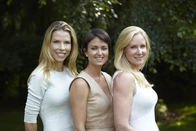 Left to right: GIFF Founders Carina Crain, Wendy Reyes and Colleen deVeer