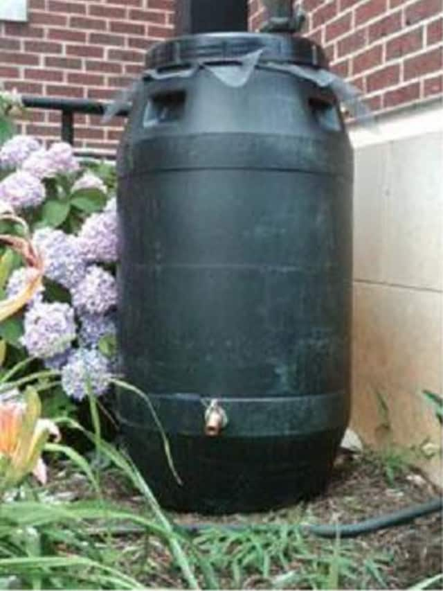 Katonah will be offering rain barrels to those interested during Cleanup Day May 2.
