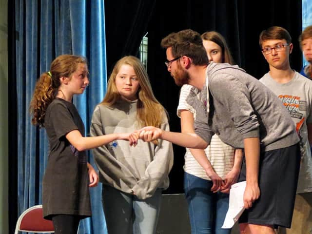 """Croton-Harmon High School students will stage productions of """"The Sound of Music"""" as its spring musical."""
