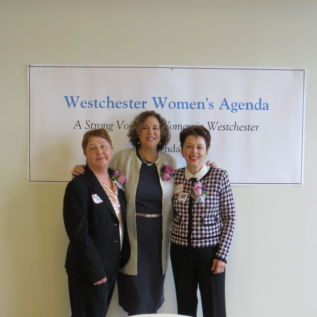 The Westchester Women's Agenda celebrated  Pat Ryan, Ronda Billig and Sheila Klatzky.