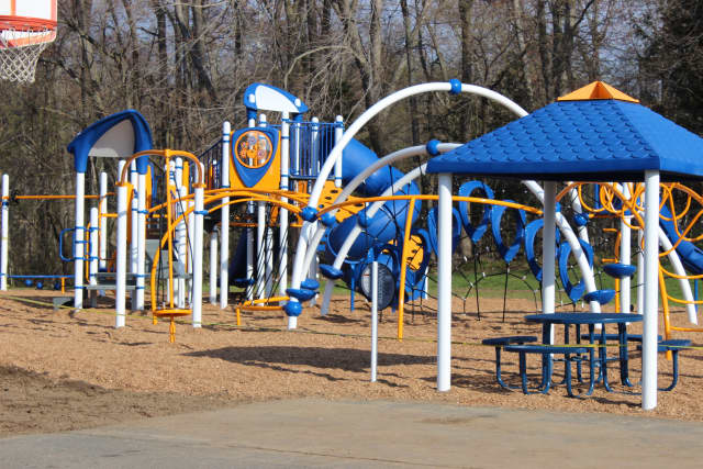 The playground at Royle Elementary School.