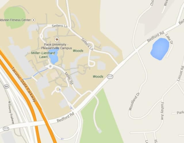 Pace University Pleasantville Campus Map.Multi Vehicle Accident Reported On Route 117 In Pleasantville