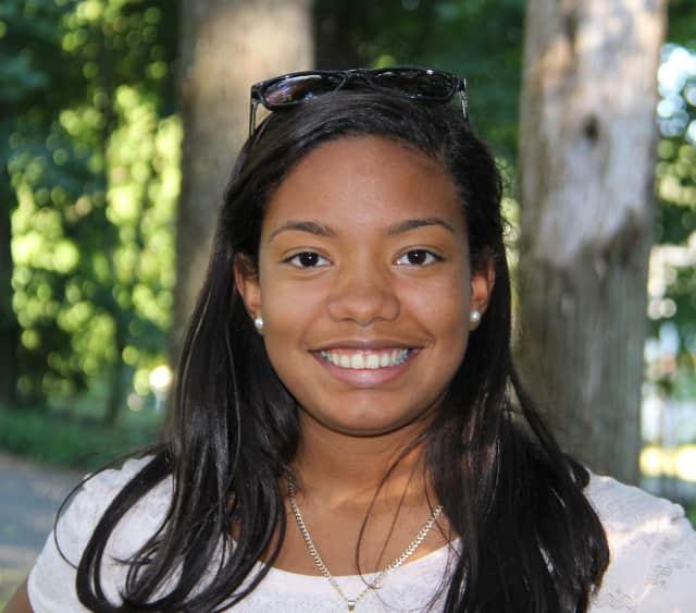 Darien High School senior Merlyn Tejada was recently honored as a Young Woman of Distinction through YWCA Darien/Norwalk.