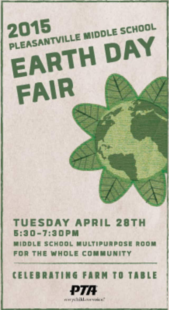 Pleasantville Middle School celebrates Earth Day with a fair Tuesday, April 28.