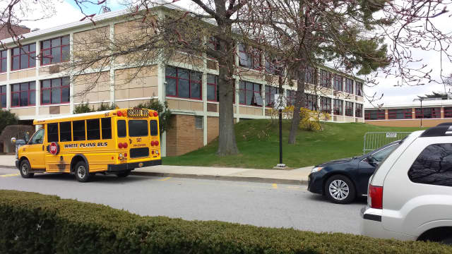 A substitute teacher at White Plains High School is facing charges for allegedly stalking a student