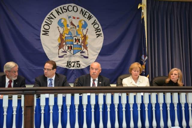 Mount Kisco's Village Board.