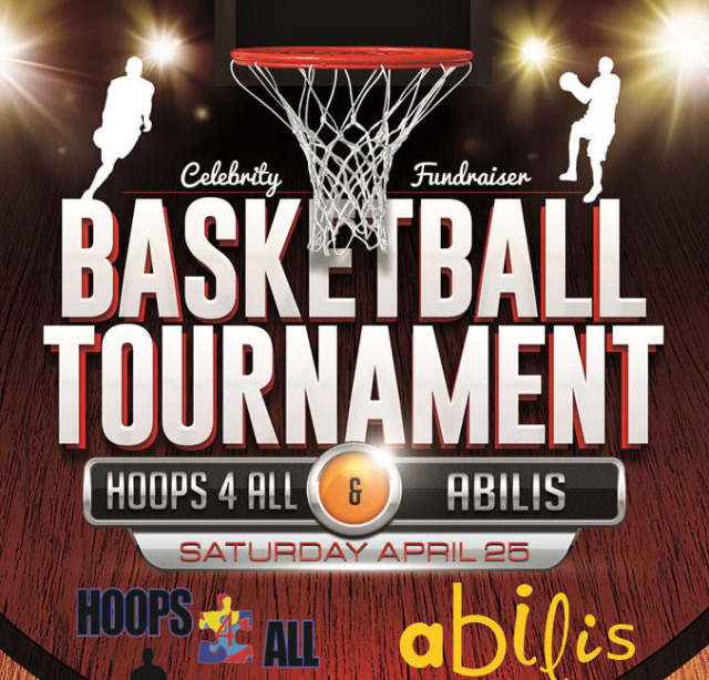 Abilis and Hoops for All are holding a celebrity basketball event Saturday.