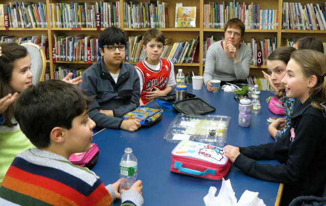 Todd Elementary School in Briarcliff Manor recently welcomed author Maryrose Wood, who inspired fourth- and fifth-grade students with her creative spirit and advice.