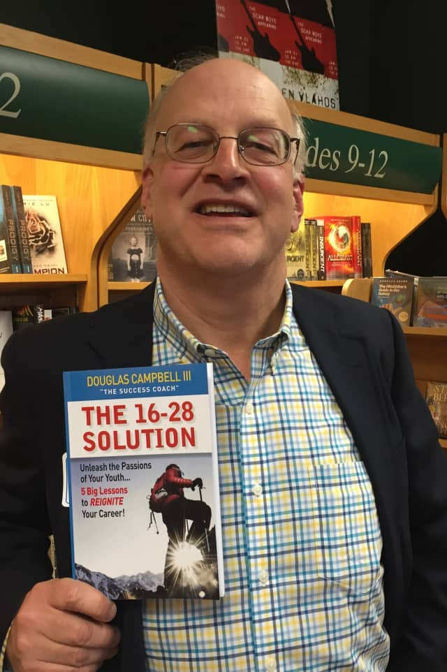 Darien author Doug Campbell's new book details how you can reignite your career by looking back at what you were passionate about between the ages of 16 and 28.
