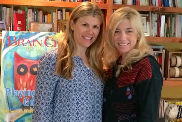 "Brain, Child Magazine's Editors, Randi Olin of Weston (left) and Wilton's Marcelle Soviero, will host their first ""Literary Salon: An Evening of Conversation and Community"" on May 21."
