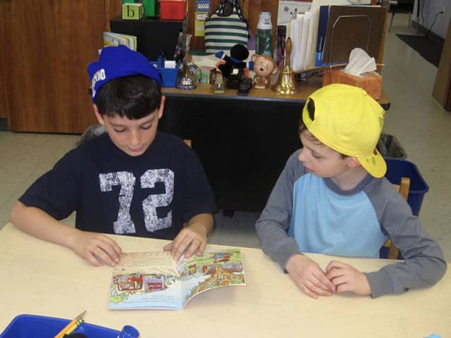 Students of the Katonah-Lewisboro School District held a book drive.