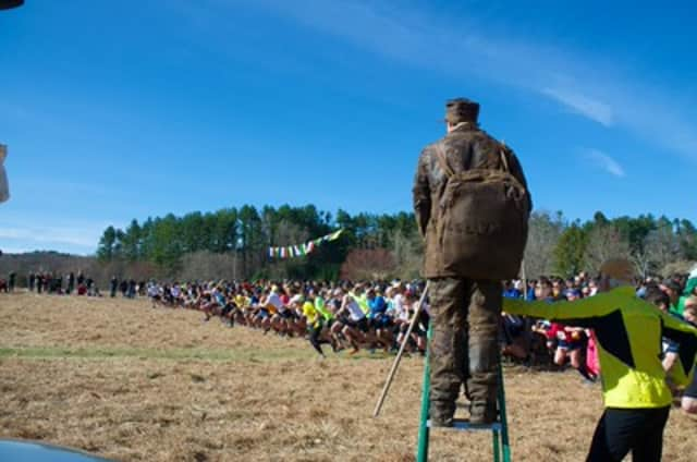 The Leatherman's Loop race was held at Ward Pound Ridge Reservation.