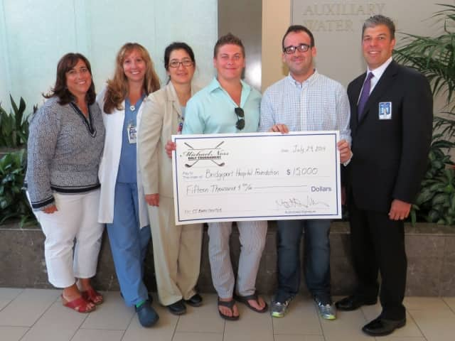 Last year's inaugural Michael Ness Play It Forward Golf Tournament and awards banquet raised $15,000 for the Connecticut Burn Center.