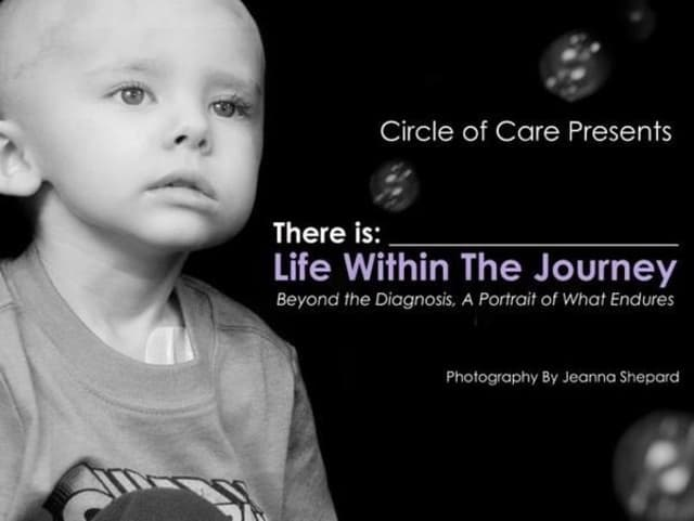 "Circle of Care will launch the statewide traveling photography exhibit, ""There Is…Life Within the Journey"" April 30 in New Canaan."