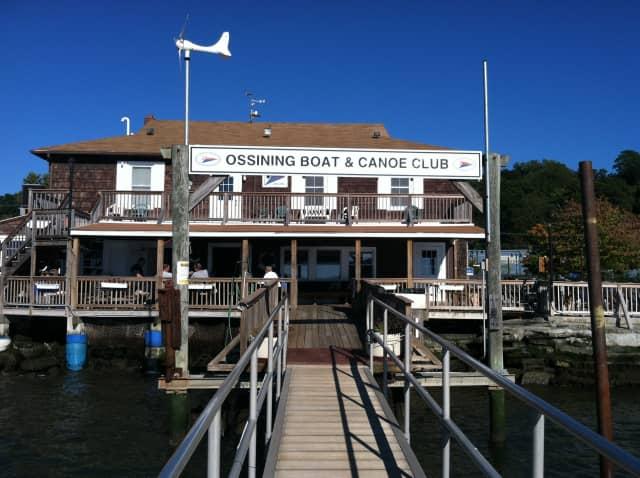 The Ossining Boat & Canoe Club in Ossining, N.Y.