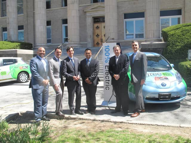 Superb Photo Credit: Zak Failla New Rochelle And Nissan Officials Unveiling The New  GreeNR Vehicles.