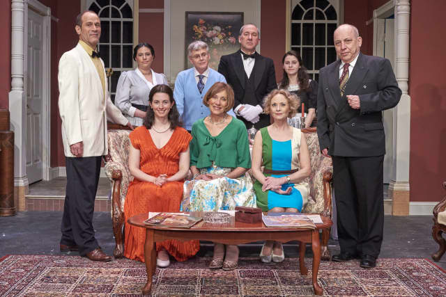 Seated, from left, Rachel Dalton, Trish Maskell, and Barbara Stolarik.  Standing: Robert Fortunato, Rachel Rothman-Cohen, Peter Haynes, Steve Benko, Ayla Guttman, and Jeff Rossman.