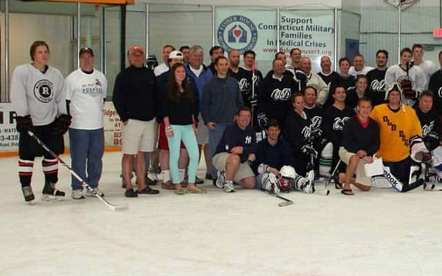 Play for Purpose is hosting a 72-hour continuous hockey game starting May 7 to benefit two local families.