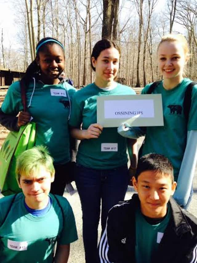 Ossining High School was named Westchester's highest-scoring group at this year's Hudson Valley Regional Envirothon.