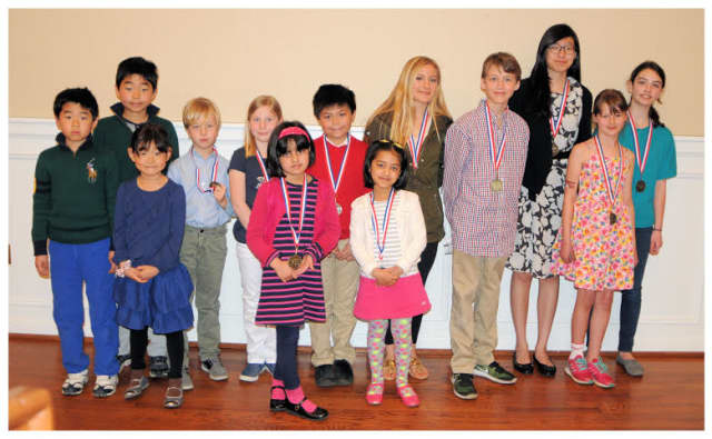 Winners of The Friends of the Bronxville Public Library's annual poetry contest were students of all ages.