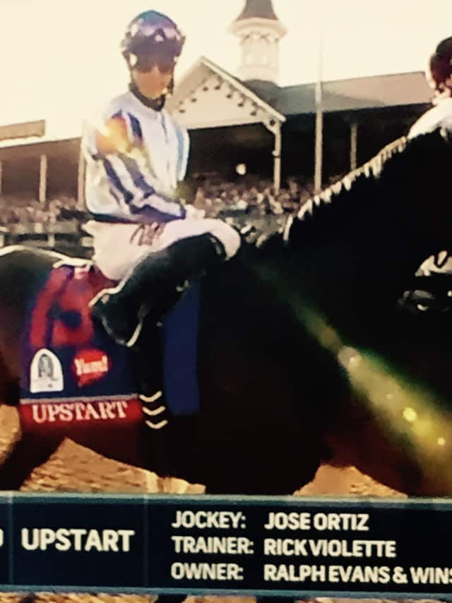 Upstart finished 18th at the Kentucky Derby.