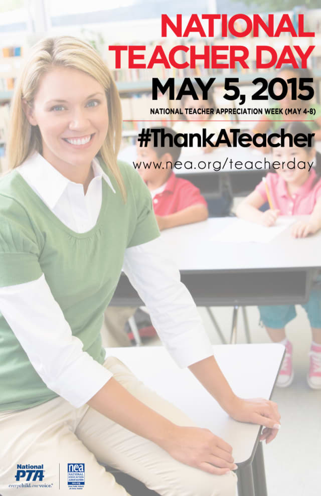 National Teacher Day will be celebrated on May 5.